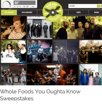 Whole Foods Sweepstakes
