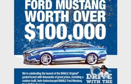 Win a Mahle Ford Mustang