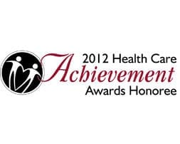 2012 Healthcare Achievement Awards Logo