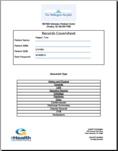 Records Coversheet