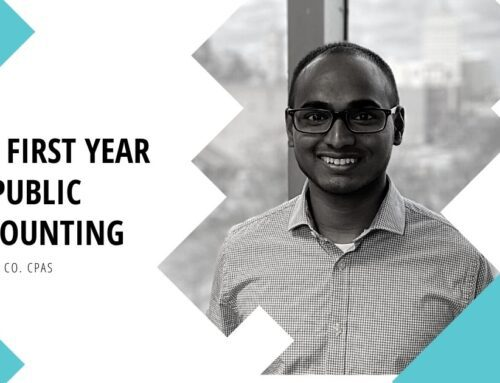 Interview: The First Year in Public Accounting
