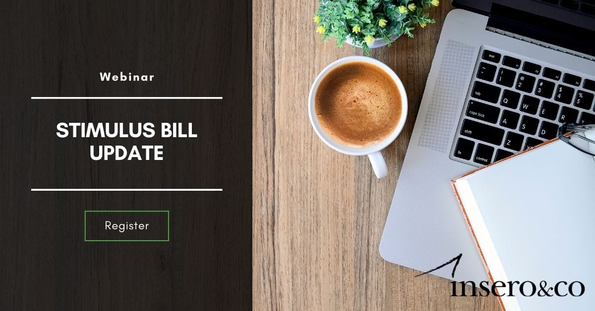 Webinar Stimulus Bill Update