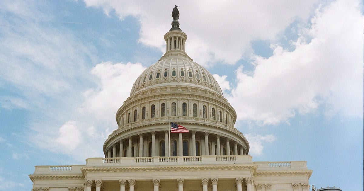 Paycheck Protection Program Flexibility Act was passed by congress at the U.S. Capitol and signed by the president