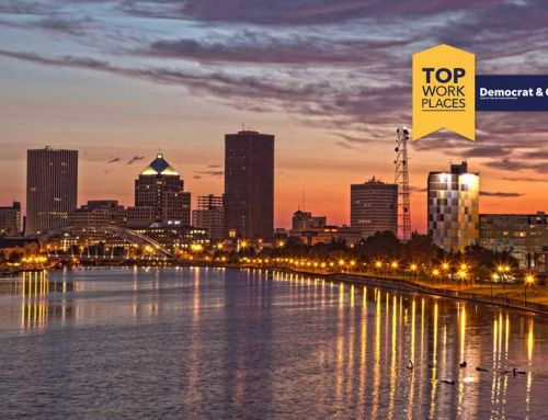 Insero named a winner of the Rochester metro area Top Workplaces 2021 Award